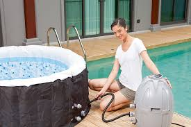 Amazon.com : SaluSpa Miami AirJet Inflatable Hot Tub : Garden & Outdoor