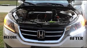 2013 Honda Accord Parking Light Diy 2013 2014 2015 Honda Accord Drl Light To Led Bulb