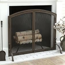 single panel fireplace screen chambers single panel fireplace screen pilgrim single panel fireplace screens