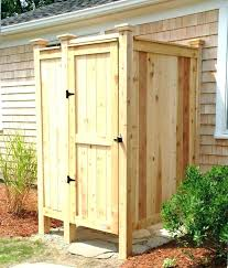 showers outdoor shower kit vintage plumbing designs ideas and decors sh