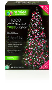Red And White Led Christmas Tree Lights Treebright Multi Action 1000 Led Tree Lights Red And White No Timer Function