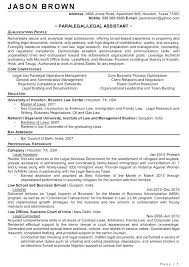 Examples Of Resume Objective Statements Best Of Paralegal Resume Objective Examples Banri