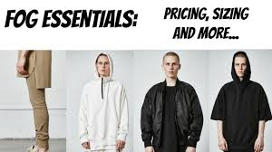 Fear Of God Fog Essentials Prices Sizing And More