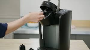 Handle indicator flashing blue — the blue light flashes when the minimum water amount of 6 oz. K Cup Keurig 2 0