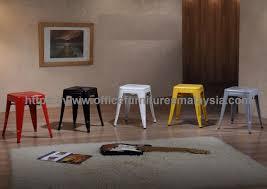 Coloured Industrial Style Bar Stool Ygbsd 889rbwyesv Sunway Kl