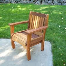 wooden outdoor chairs style