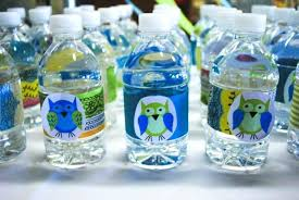 Decorating Water Bottles For Baby Shower Baby Shower Table Decoration Ideas Owl Boy Themes Games Theme 24