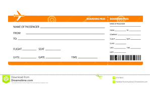 Printable Fake Airline Tickets Airline Ticket Invitation Exampl On Fake Plane Ticket Template Td 1