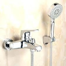 tub and shower faucets with hand shower