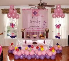 birthday celebration home decoration design decorations at simple