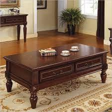 cherry wood coffee table