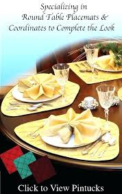 best placemats for round table best for round table best for round table round table wedge