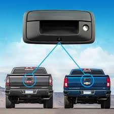 14-15 Silverado Sierra GM Truck TailGate Handle Backup Camera Kit ...