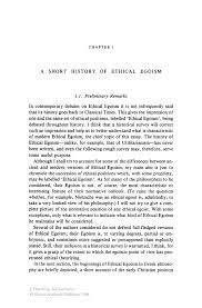 a short history of ethical egoism springer inside
