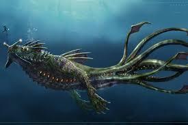 leviathan dragon wallpaper. Unique Wallpaper Clawedfrog 35 13 Sea Dragon Leviathan By Jengineerr Inside Wallpaper T