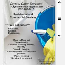 Crystal Clear Janitorial Services Care Com Gainesville Fl House