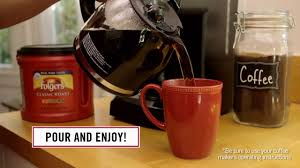 Folgers Coffee Chart How To Coffee Videos How To Make Coffee Folgers Coffee