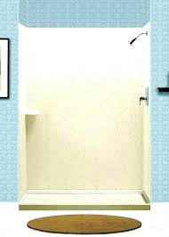 solid surface shower walls subway tile