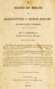 jeffreys george washington ncpedia a series of essays on agriculture rural affairs
