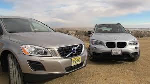 BMW 3 Series xc60 vs bmw x3 : 2013 Volvo XC60 versus BMW X1 0-60 MPH Mashup Review - YouTube