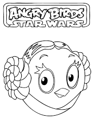 Angry Birds Star Wars Coloring Pages To Print Darth Vader The Art