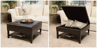 christopher knight home miriam wood square storage ottoman bench with bottom rack