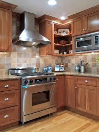 Kitchen With Stone Backsplash Gallery Kitchen Stone Backsplash Ideas With Dark Cabinets Fence