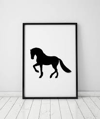 horse print horse lover gift horse silhouette modern wall art instant download printable art prints minimalist on horse silhouette wall art with horse print horse lover gift horse silhouette modern wall art
