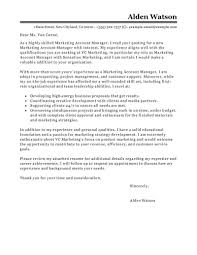 Example Of Executive Cover Letters Best Account Manager Cover Letter Examples Livecareer