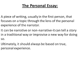 different ldquo types rdquo of creative non fiction writing ppt video the personal essay