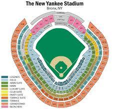 Map Of Yankee Stadium Map 2018