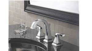 delta brushed nickel bathroom faucets. Delta 3551LF Dryden Two Handle Widespread Lavatory Faucet Reviews Brushed Nickel Bathroom Faucets F