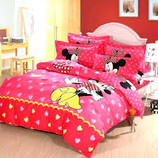 Bedroom Kids Colors Mickey And Bedding Set Furniture Fun Minnie ...