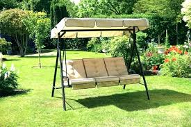 garden swing canopy replacement canada for seat patio with sets outdoor parts sw