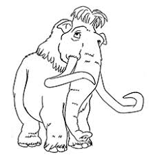 Small Picture 10 Cute Ice Age Coloring Pages For Your Toddler Ice age and Free