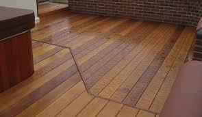 wet floor deck anti slip deck