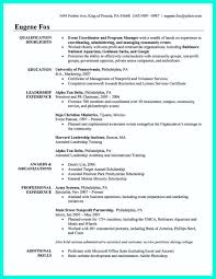 Event Manager Resume Learning to Communicate in Science and Engineering Case Studies 54