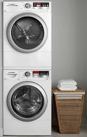 closet with a stackable washer dryer they ve