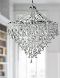 dorchester large chrome 7 light modern crystal chandelier