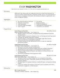 Recruiter Resume Template Wonderful Staffing Recruiter Resume Sample Email To Recruiter With Resume New