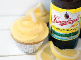 summer shandy lemon cupcakes