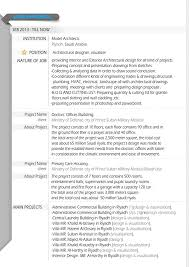 Architectural Resume 2015 On Student Show