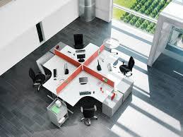 creative office ideas. Luxury Office Creative Ideas Circle Table X Shape Maroon