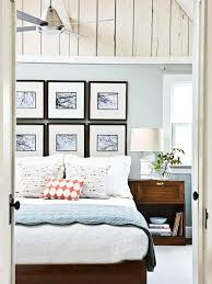 Blue Color Palette Bed Bedroom Pictures Nightstand