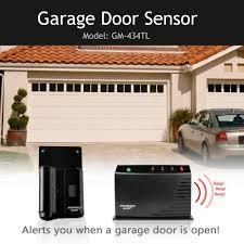 wireless garage door monitorWireless Garage Door Monitor Sensor GM434TL BE NOTIFIED OF YOUR