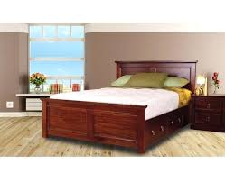 Mahogany Bed Frame Solid Natural Finish – Download House Beautiful Home