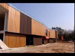 exterior wall panel faux wood materials