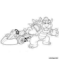 Mario Kart 23 Video Games Printable Coloring Pages