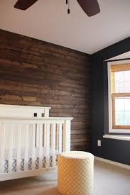 bedroom wood panel accent wall
