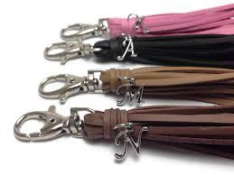 leather tassel charm handbang and purse charm previous
